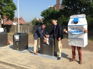 Promotiecampagne Roosendaal plastic containers